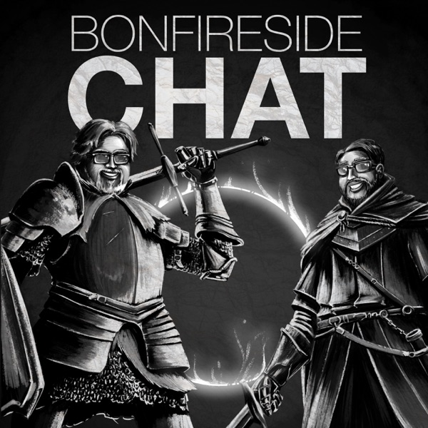 Logo of Bonfireside Chat - A Dark Souls and Bloodborne Podcast