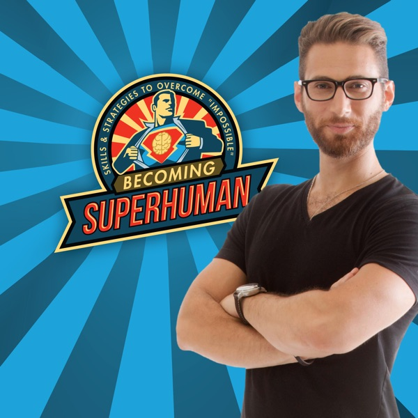 Logo of The Becoming SuperHuman Podcast
