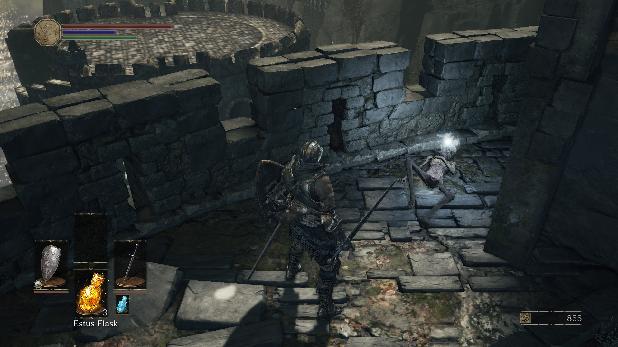 Dark Souls 3 High Wall of Lothric - Kill the Dragon, Find