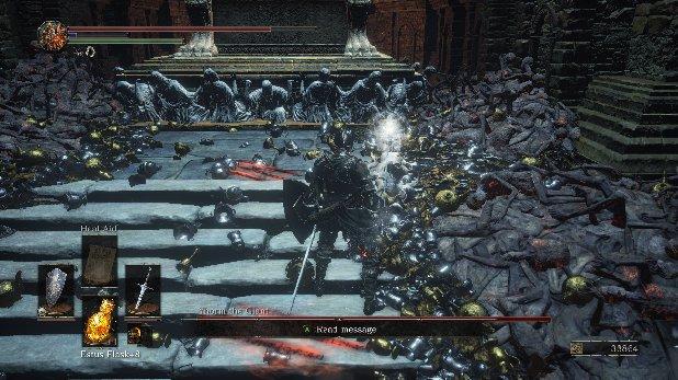Dark Souls 3 - Beat Yhorm the Giant | Walkthrough | Prima Games