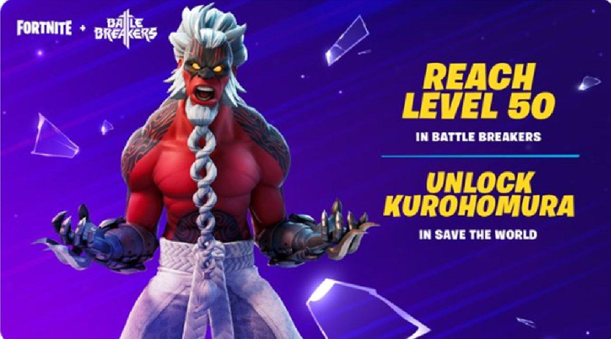 Can I Reach Level 80 Fortnite How To Unlock Fortnite Kurohomura Battle Breakers Skin Tips Prima Games