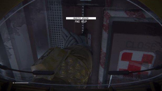 Alien: Isolation Mission 2: Welcome to Sevastopol - Door