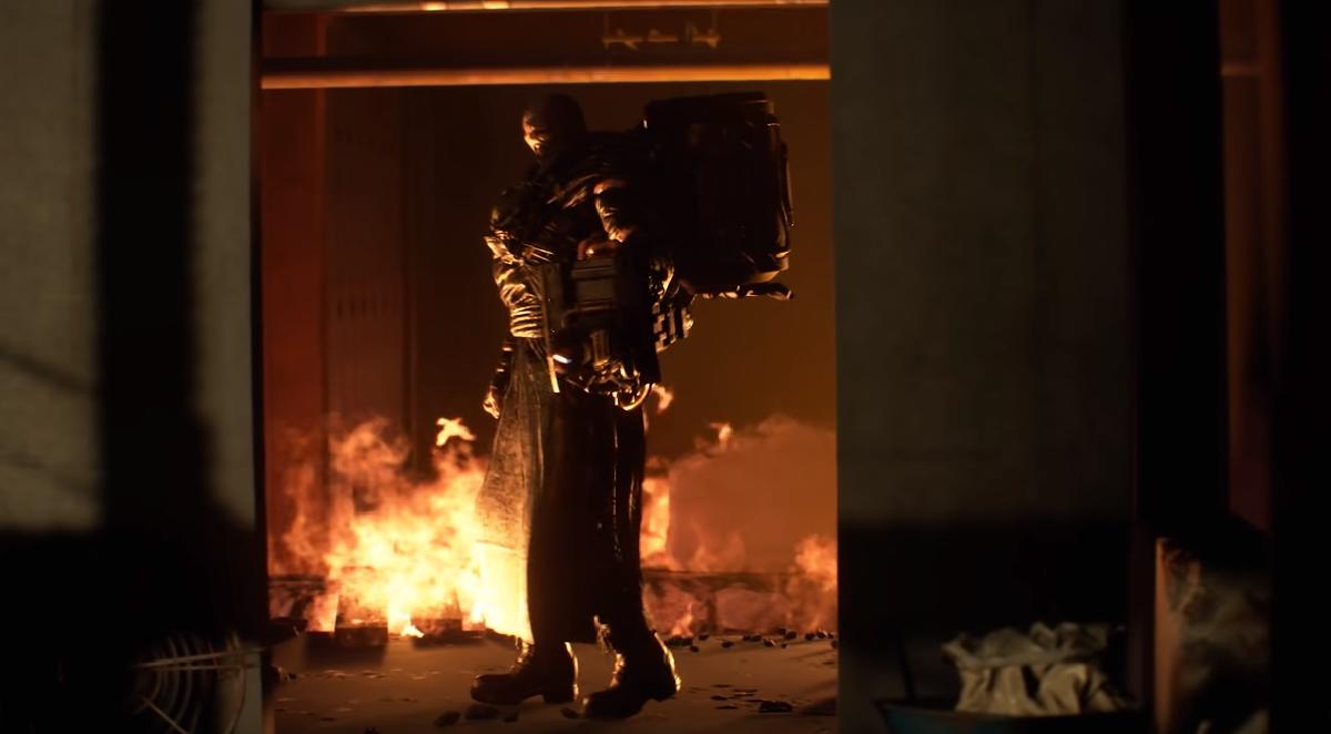 resident evil 3 remake nemesis flamethrower