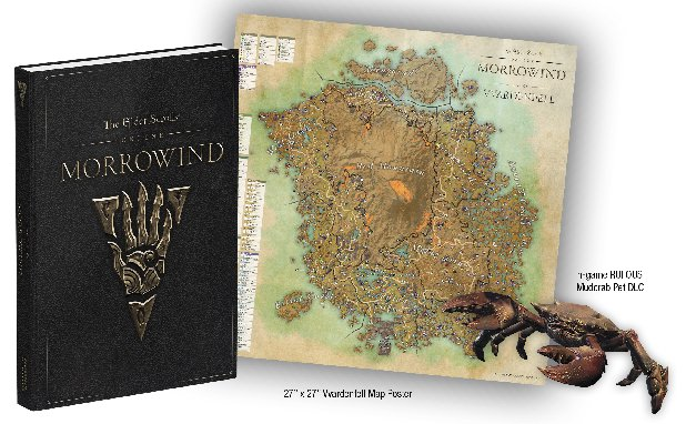 Look Inside the Elder Scrolls Online: Morrowind Collector's Edition on