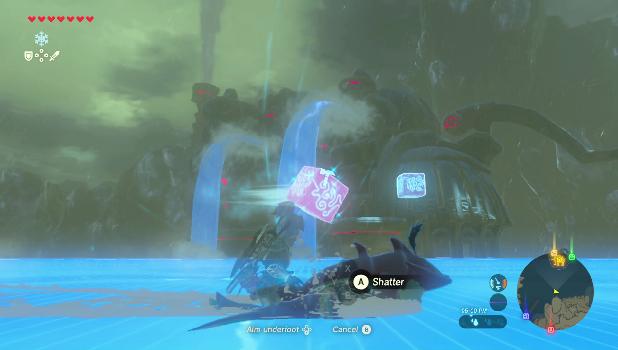 Zelda: Breath of the Wild - Divine Beast Vah Ruta