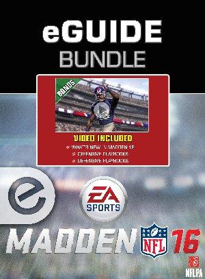Madden NFL 16 eGuide Bundle