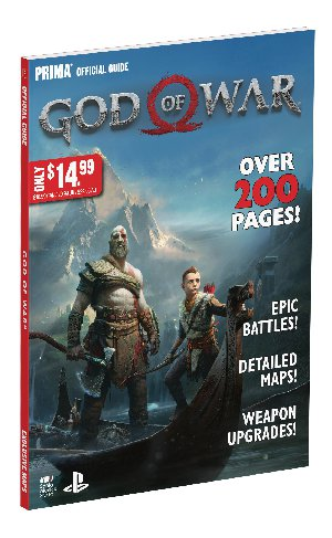God of War Prima Official Guide