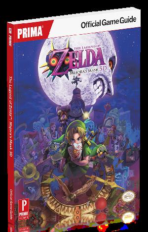 The Legend of Zelda: Majora's Mask 3D Strategy Guide
