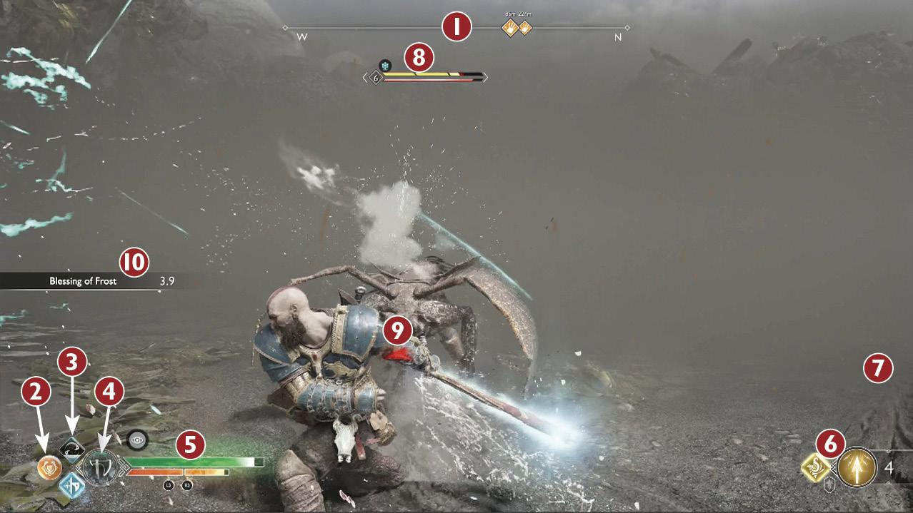 User Interface The Basics God Of War Eguide Prima Games