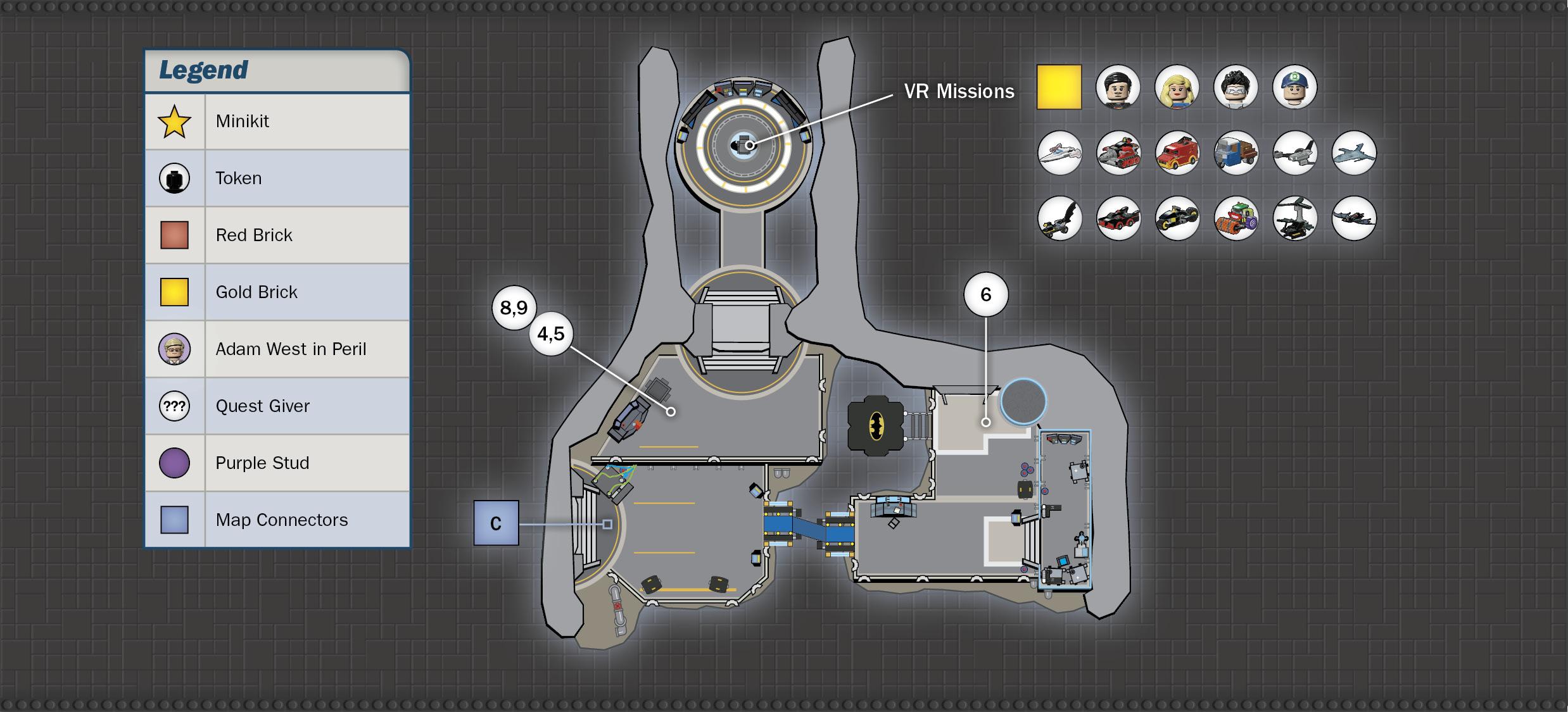 Lab Batcave Lego Batman 3 Beyond Gotham Eguide Prima Games