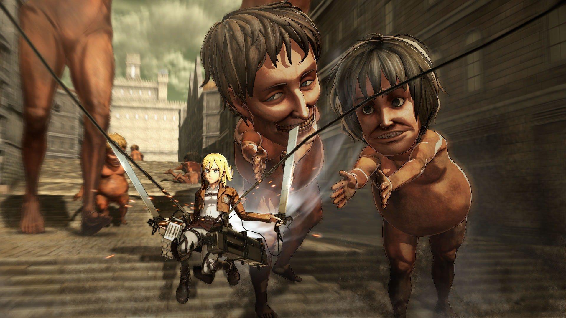 Attack on Titan Game - Find the Best 3D Maneuver Gear | Tips | Prima Games