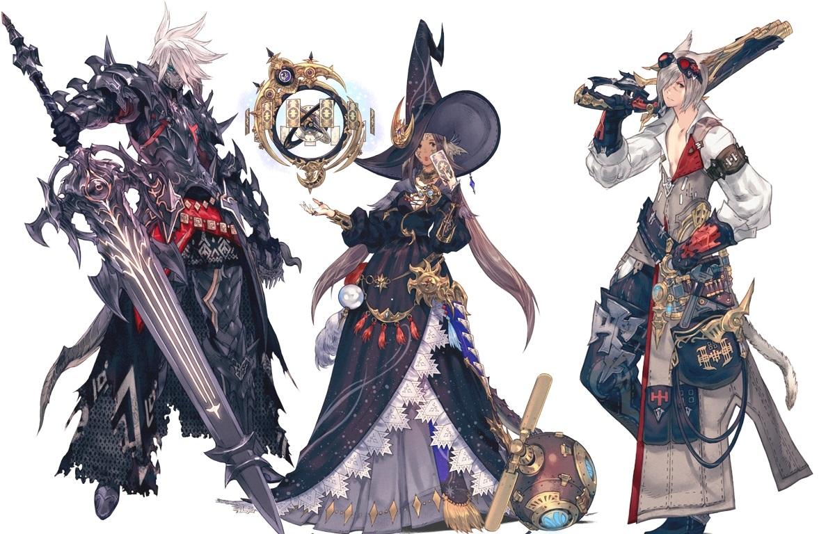 Final Fantasy 14 Heavensward Dark Knight Astrologian Machinist Feature Prima Games