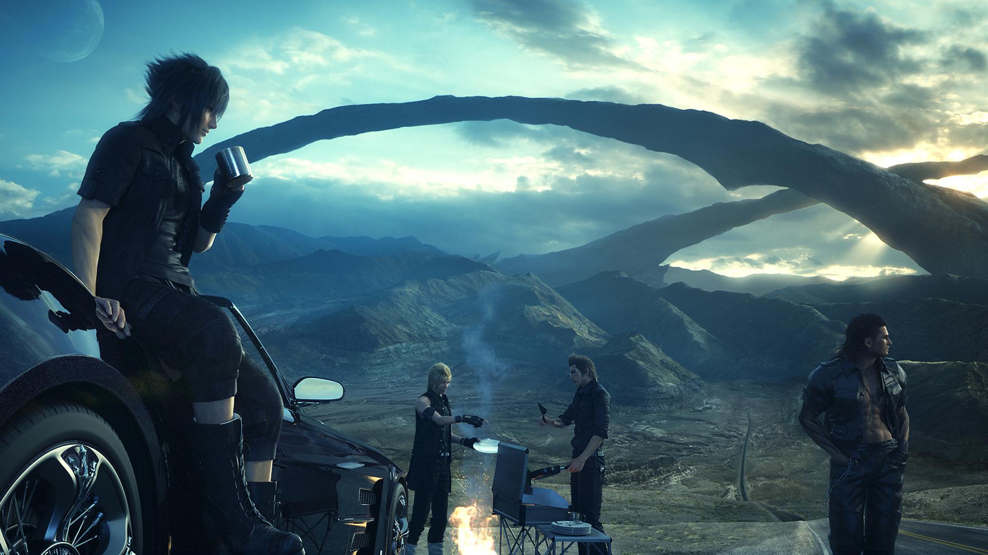 Final Fantasy 15 Episode Duscae Demo Exploration Feature