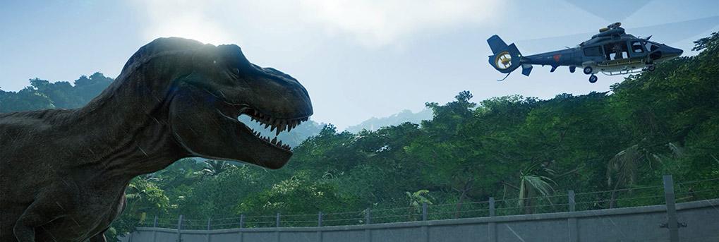 Start Jurassic World