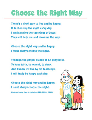 SONG - CTR A Lesson 1 - Choose the Right Way