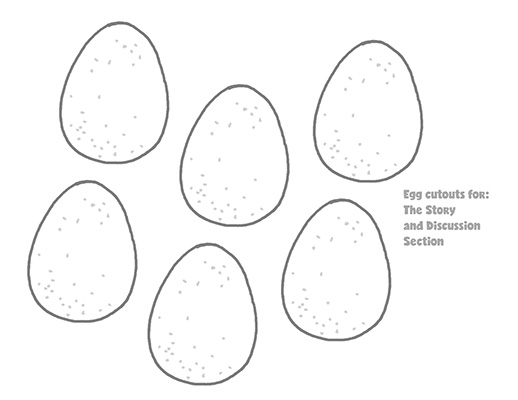 CTR-A-2018 Lesson 2-Eggs-CutOuts BW