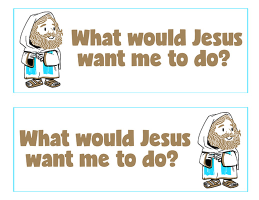 CTR-A-2018 Lesson 2-What Would Jesus Want Me To Do Wordstrips