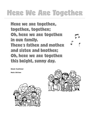 CTR-A-2018 Lesson 6-Here We Are Together Song BW