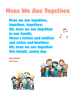 CTR-A-2018 Lesson 6-Here We Are Together Song