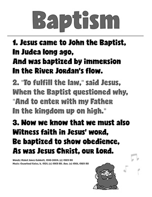 CTR-A-2018 Lesson 12-Baptism Song-BW