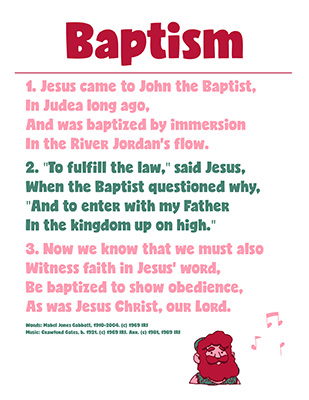 CTR-A-2018 Lesson 12-Baptism Song