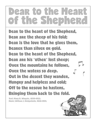 CTR-A-2018 Lesson 23-Dear Heart Shepherd Song-BW