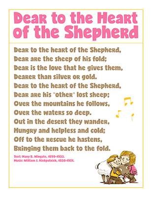 CTR-A-2018 Lesson 23-Dear Heart Shepherd Song