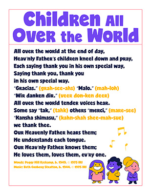 CTR-A-2018 Lesson 24-Children Over World Song
