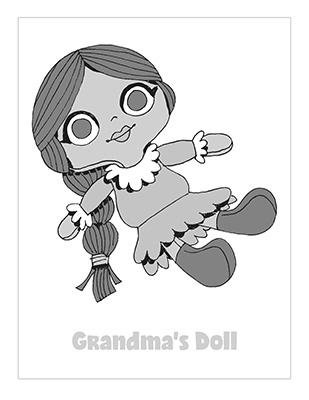 CTR-A-2018 Lesson 24-Grandma Doll Story-BW