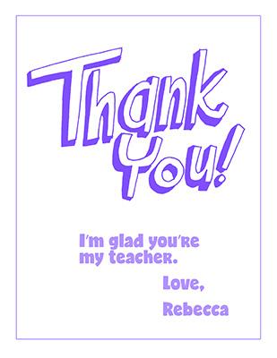 CTR-A-2018 Lesson 25-ThankYouRebecca