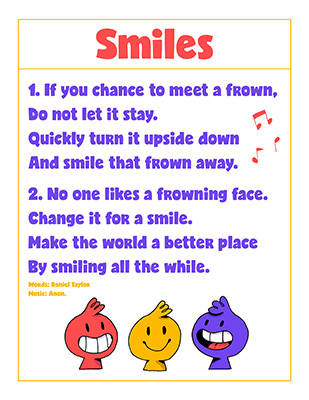 CTR-A-2018 Lesson 26-Smiles Song