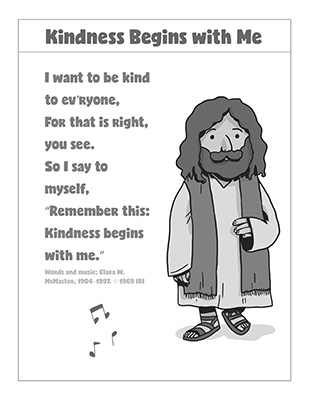 CTR-A-2018 Lesson 28-Kindness Song BW