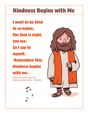 CTR-A-2018 Lesson 28-Kindness Song