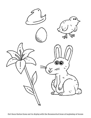 CTR-A-2018 Lesson 45-Easter Things-BW