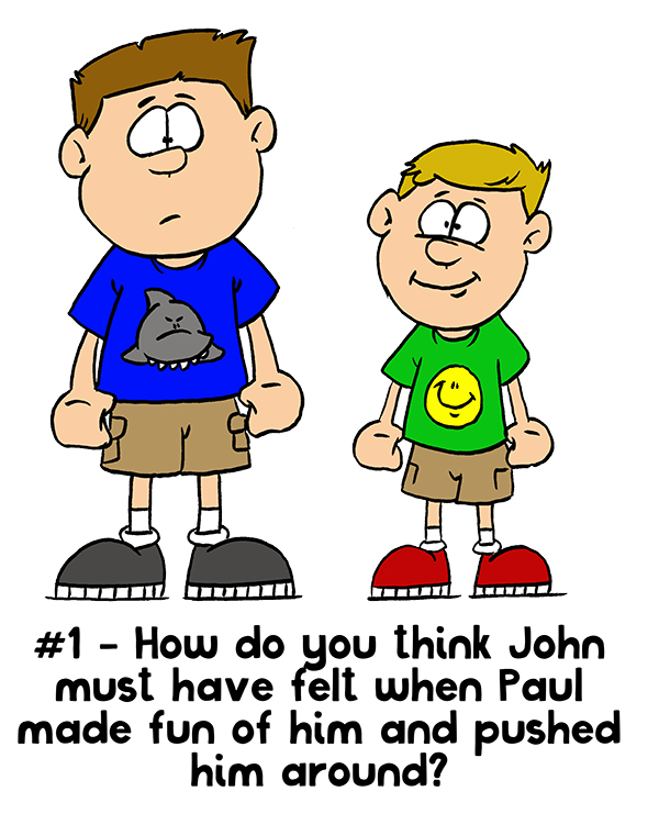 Primary 3: Lesson 23 - Forgiving One Another - John & Paul Story Posters