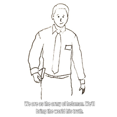 Primary 3 Lesson 24 The Lord Helps Missionaries Elder missionary coloring page