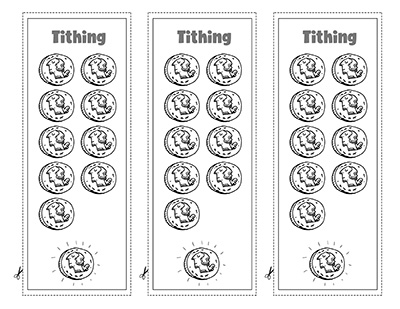 COLORING PAGE BOOKMARK Tithing CTR Lesson 42.jpg