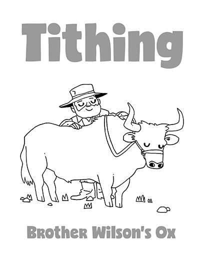 COLORING PAGE POSTER Tithing CTR Lesson 42.jpg