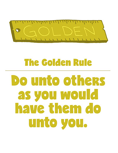 Golden Rule Do Unto Others CTR Lesson 44