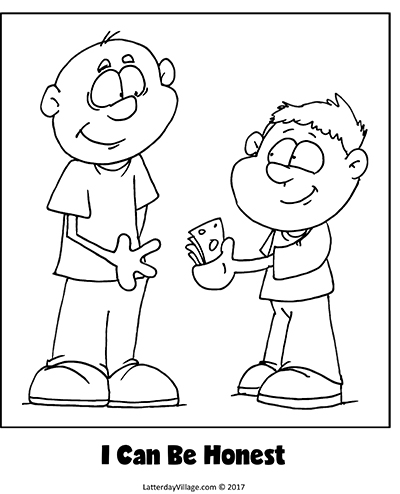 coloring pages being honest - photo#22