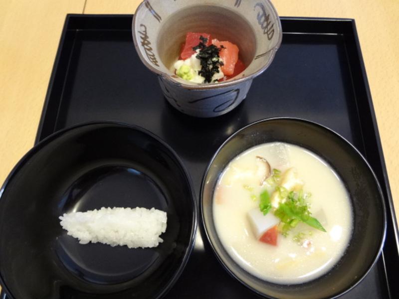 正午の茶事の茶懐石(一汁五菜)