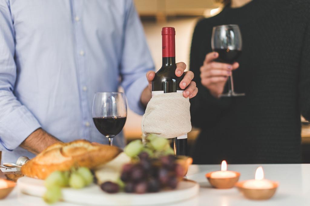 ホームパーティーと言えばお酒ワイン派
