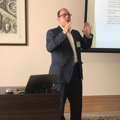 2017 Malta Meeting Peter