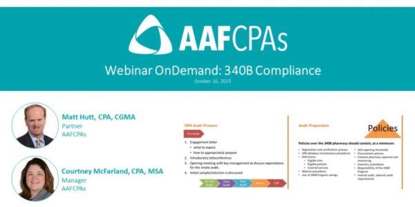 Aafcpa Compliance Webinar Thumbnail