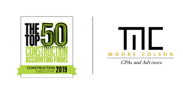 Moore Colson Cpas Advisors Ranked Top 50 Us Construction Accounting Firm Atlanta 2