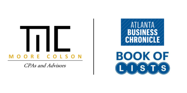 Moore Colson Cpas Advisors Top 20 Accounting Firm In Atlanta Book Of Lists
