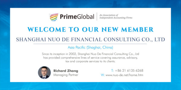 Shanghai Nuo De Financial Consulting Co 07 19
