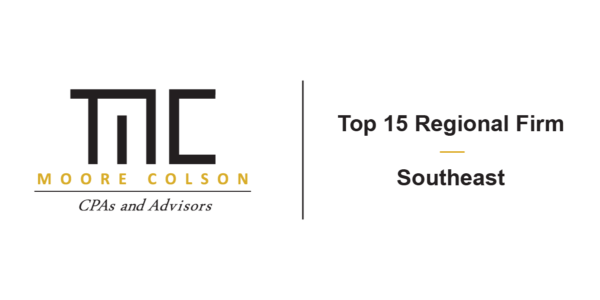 Moore Colson Ranks 15 On Southeast Regional Firm Top List Accounting Today Best Cpa Tax Audit Consulting Advisory 3