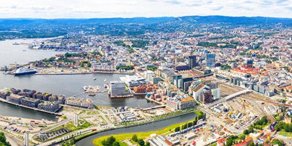 Oslo Norway 1600X250