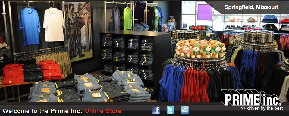 Prime Inc. Company Store